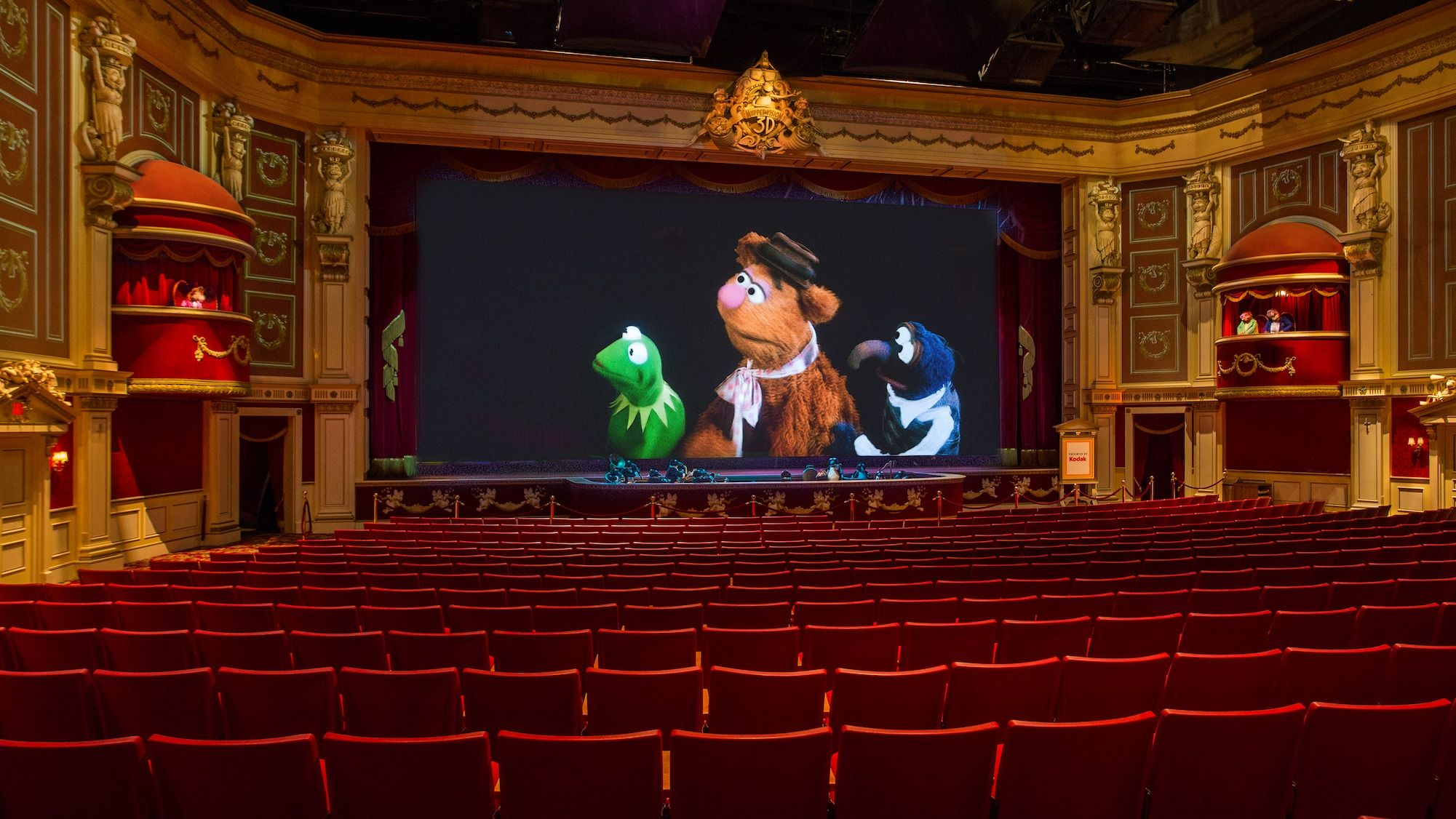 Muppet Vision 3D in 2020 Hollywood studios disney