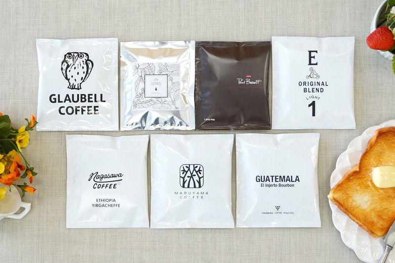 大好評企画人気コーヒー店7のドリップバッグ発売 食べ物のパッケージデザイン 食品の包装 コーヒー店