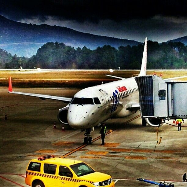 Aeropuerto de #Vigo #galicia #airplanes #airports #aviones #aireuropa #lineasaereas #airlines #spain #lineasaereas #aeropuertos #aena #igersgalicia #igers #picoftheday #hdr_spain #hdr - @Jimmy Pons- #webstagram