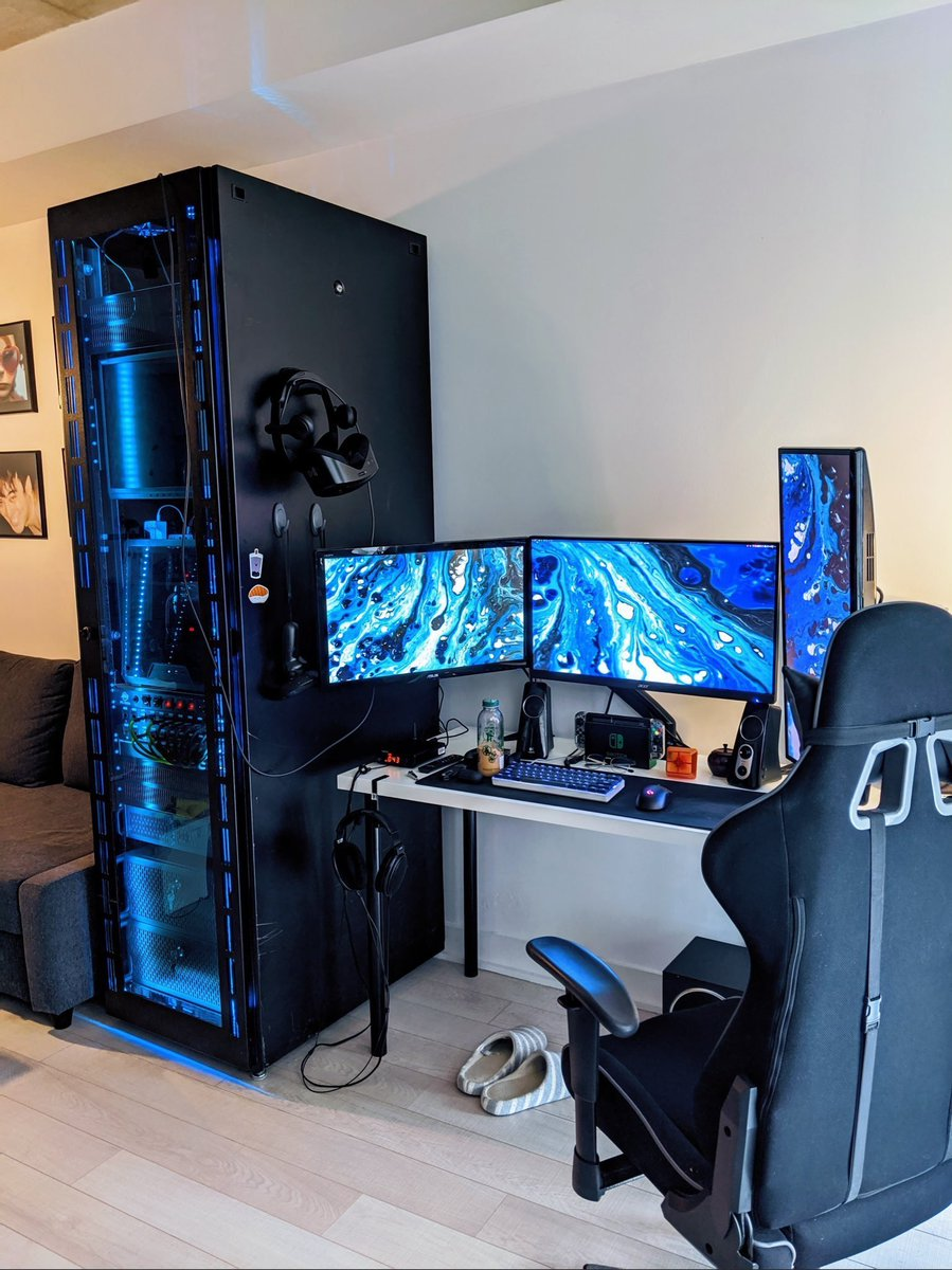 Faze Sway On Twitter Computer Gaming Room Gaming Room Setup Video Game Rooms