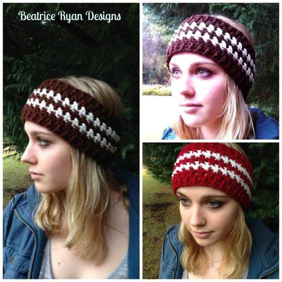 Winters Twist Free Crochet Headband Pattern | Crocheting | Pinterest ...
