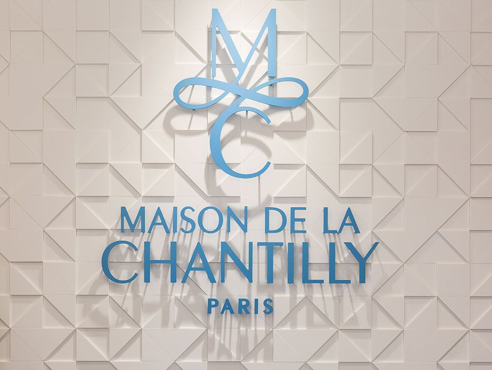 Retail : Maison de la Chantilly Paris
