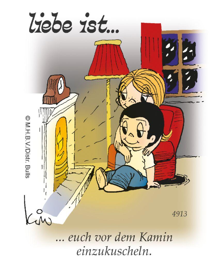 """""""Liebe ist…"""": Die legendären Cartoons jetzt auch bei #comicsandcartoons"""
