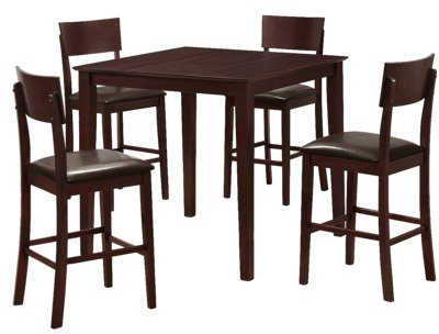 Target #table #Piece #Table #Espresso 5 Piece Pub Table Set ...