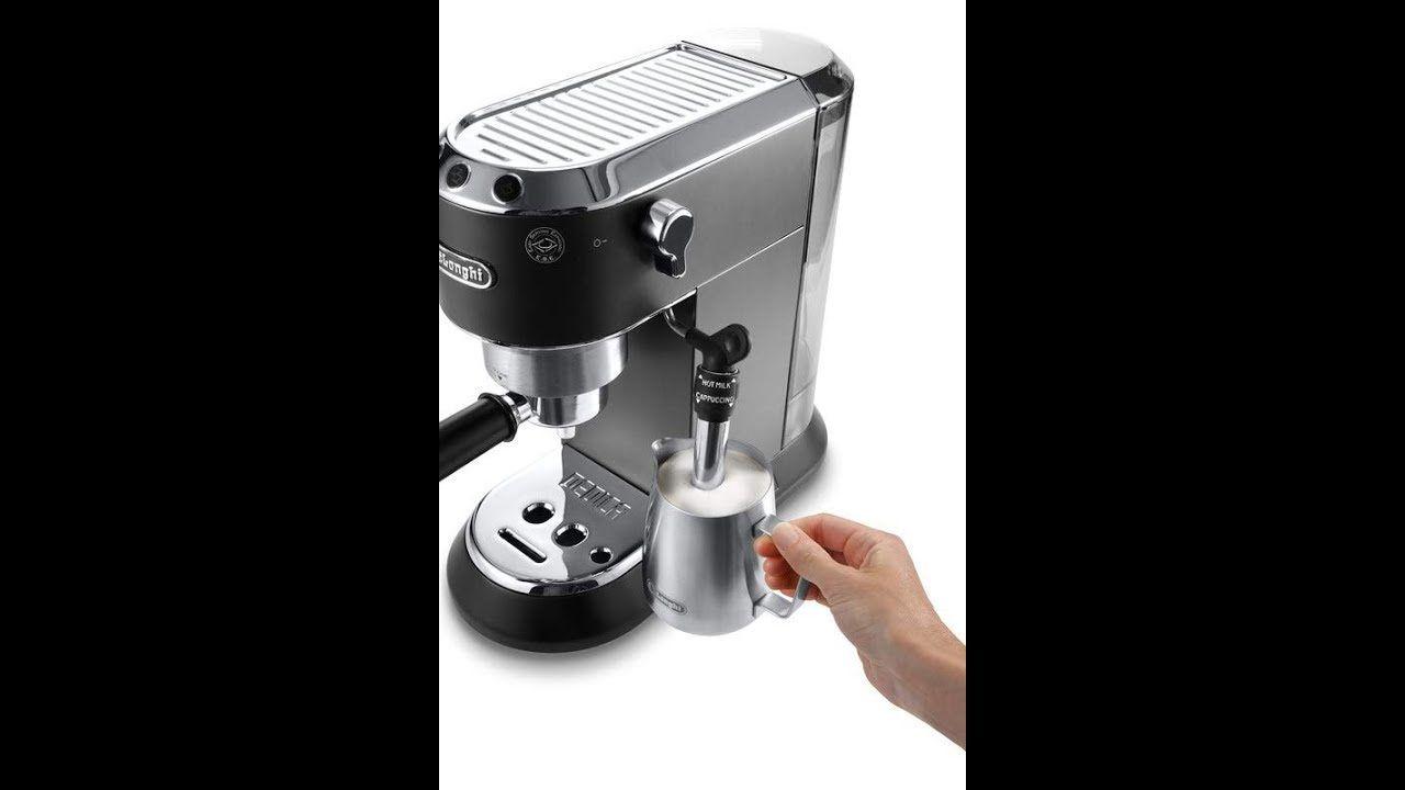 Delonghi Cappuccino Maker Reviews Ec685 B Dedica 15 Bar Pump Espresso M Automatic Espresso Machine Cappuccino Maker Best Espresso Machine