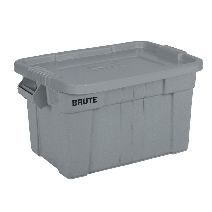 Rubbermaid Commercial Products Brute 20 Gallon Tote With Standard