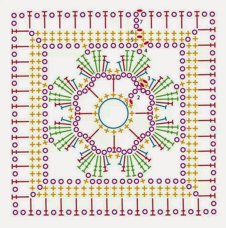 Interesting ideas for decor: Многообразие квадрата | Square ...