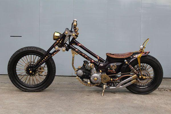 Pin Di Vintage Bikes Customs