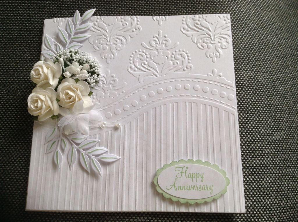 Card Making Ideas With Embossing Folders Part - 15: All Occasion Embossing Folder · Wedding Anniversary CardsWedding CardsWedding  IdeasEmbossed ...