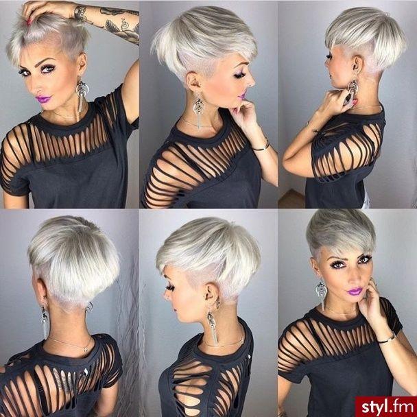 Krótkie fryzury w nowoczesnej wersji - najlepsze c