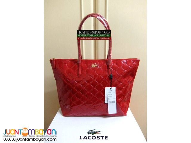 b57ef73204 Bags & Accessories Taytay, LACOSTE TOTE BAG - CODE 085 - SALE ...