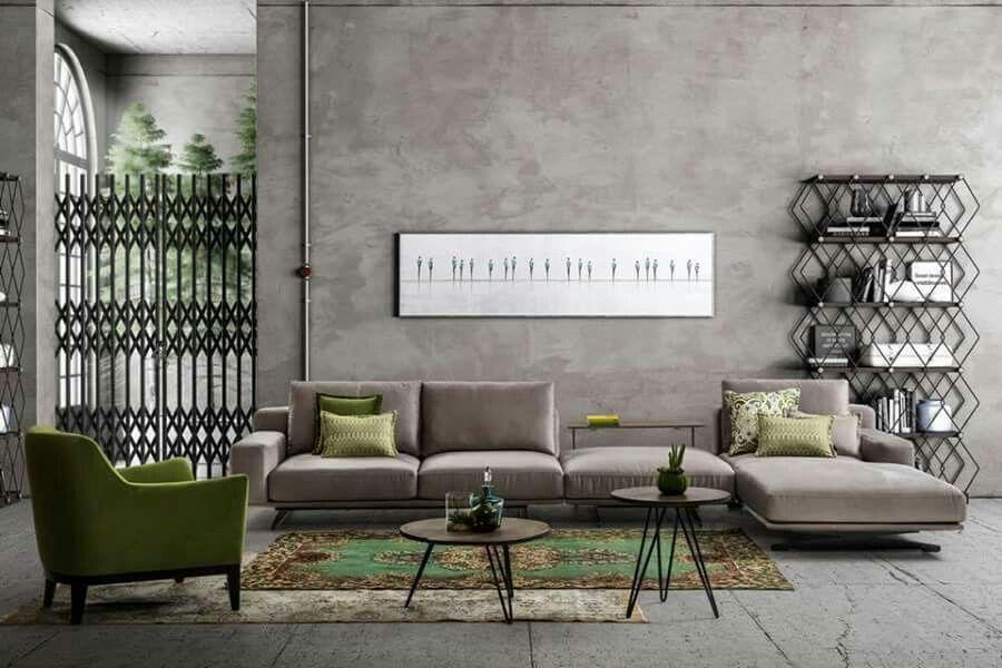 Livesa L Köşe Koltuk Ev için Fikirler Pinterest Modern - bahir wohnzimmermobel design