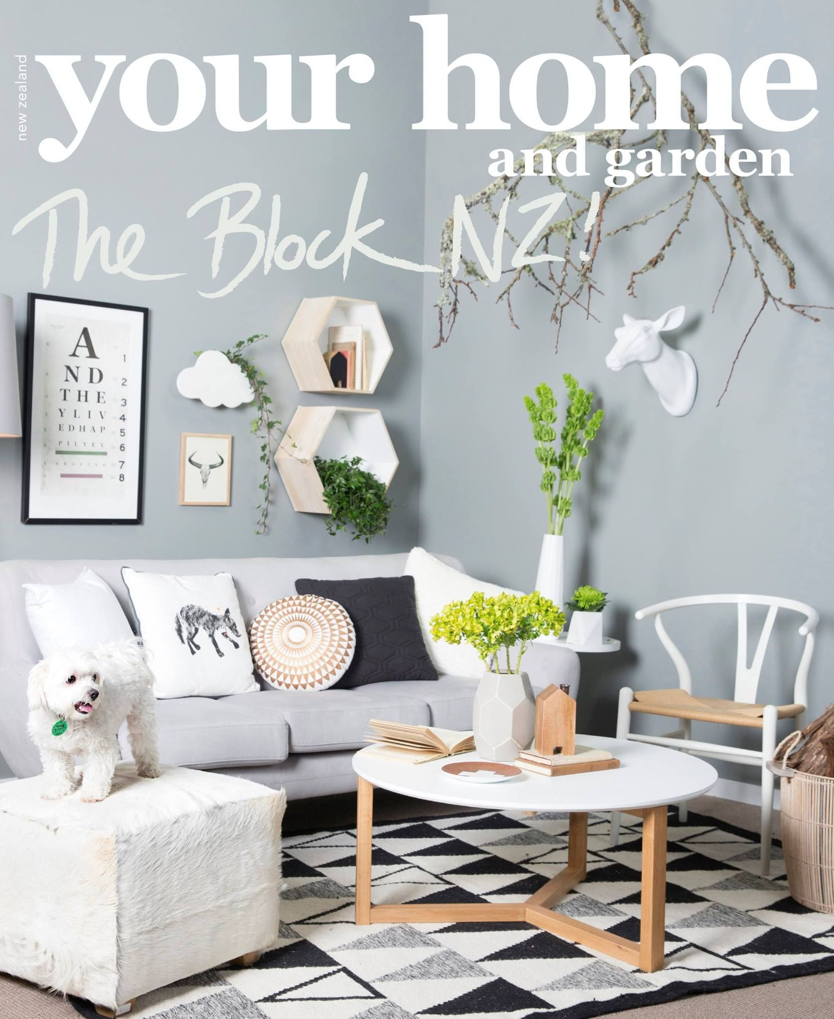 deer print sofa covers how to make a sectional slipcover jo and damo 39s 39new nordic 39 your home garden magazine
