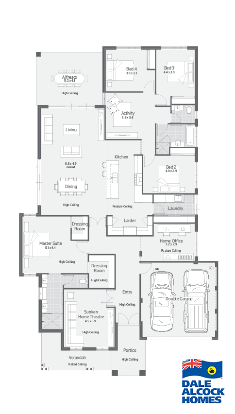 Homestead I Dale Alcock Homes Home Design Floor Plans House Layout Plans New House Plans