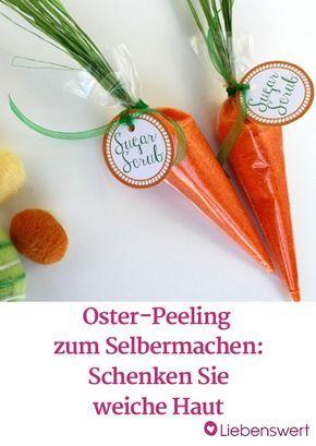 Peeling selber machen: Das Rezept für Zuckerpeeling mit Orange