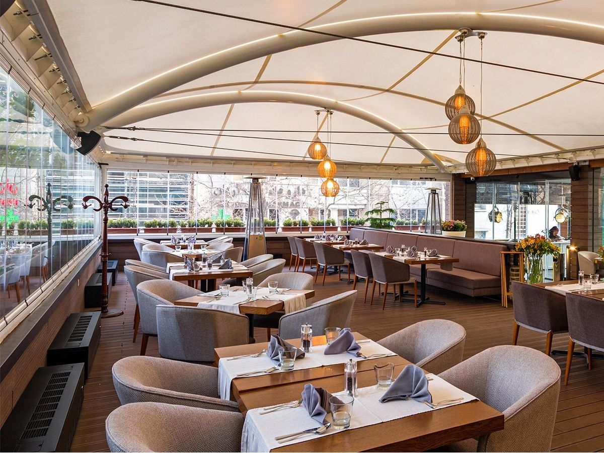 China Tensile Structures for Restaurant Open Air Food