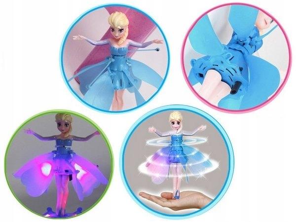 Latajaca Lalka Wrozka Elsa Frozen Kraina Lodu Disney Characters Disney Character