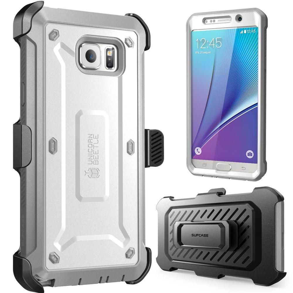pretty nice 8982c 4f2f1 I-Blason Supcase Galaxy Note 5 Unicorn Beetle Pro Case with Screen ...