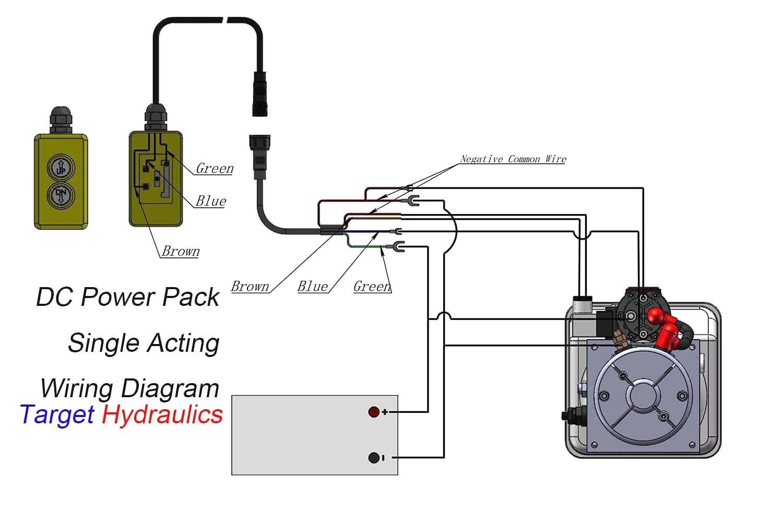 12 Volt Hydraulic Pump Wiring Diagram In 2020 Hydraulic Pump Hydraulic Dump Trailers