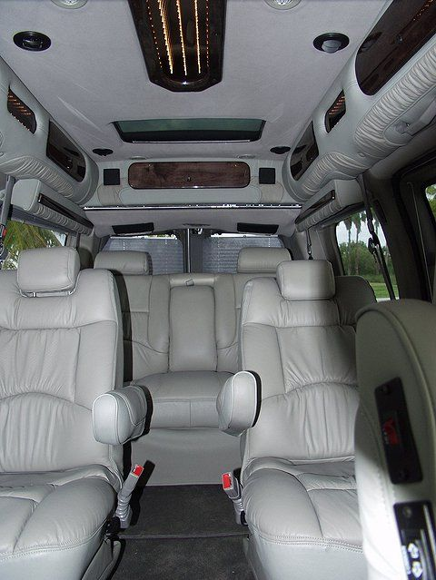 Image Detail For 12 Passenger Van Full Size Luxury Van 7