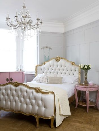 The bed sanctuaries schlafzimmer m bel landhaus m bel - Schlafzimmer franzosischer stil ...