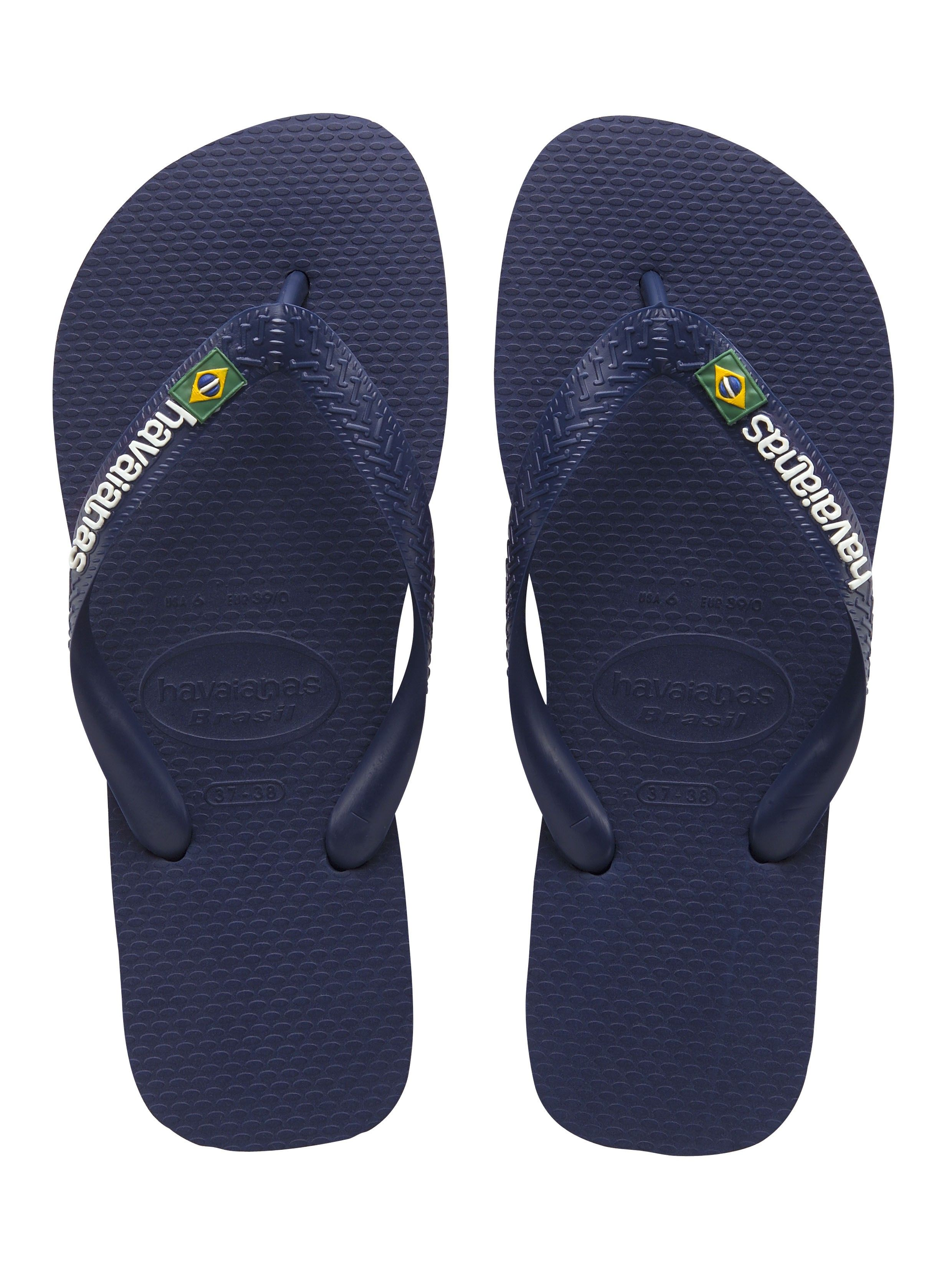 Kleidung & Accessoires Havaianas H Brasil Flip Flop White