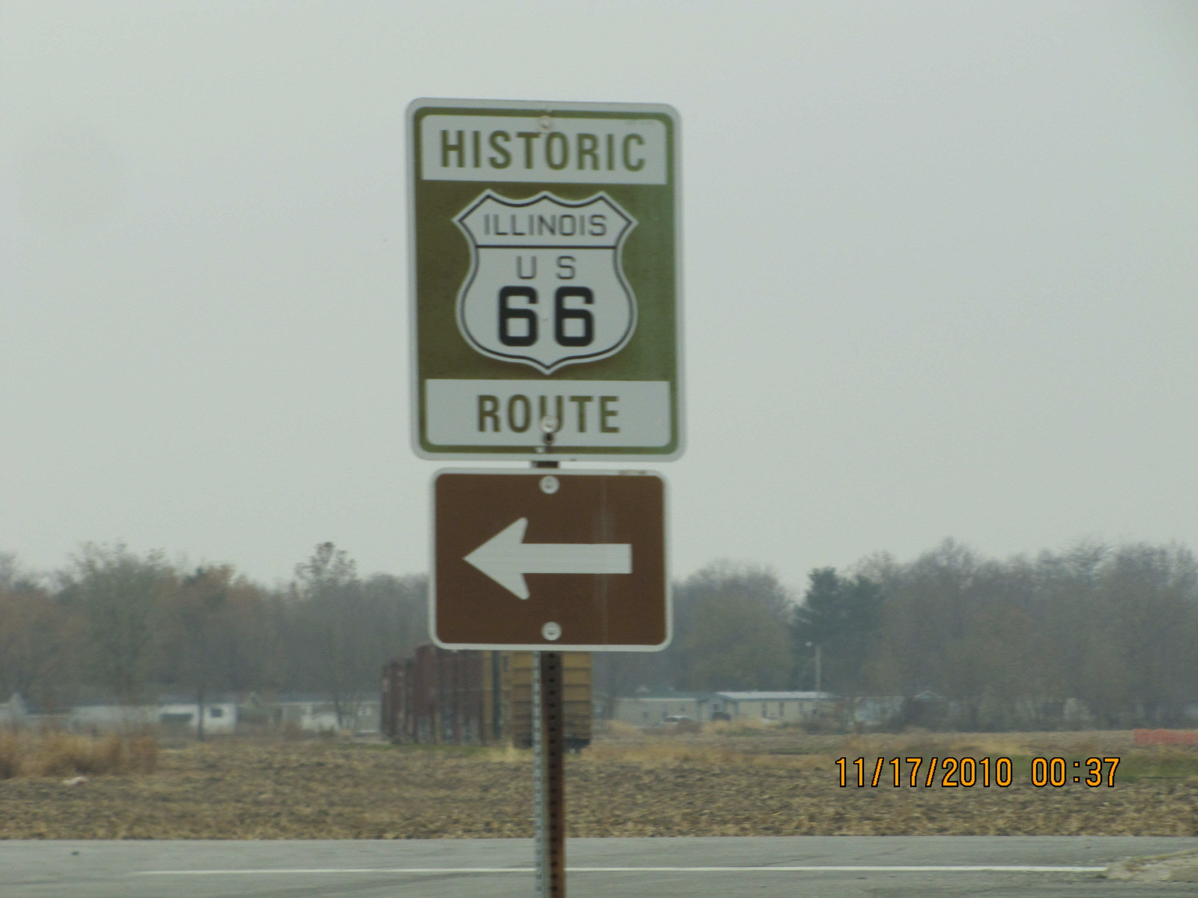 There no place like home, cruising Route 66