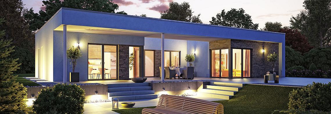 Fassade Bungalow haus modern fassade holz und suche häuser