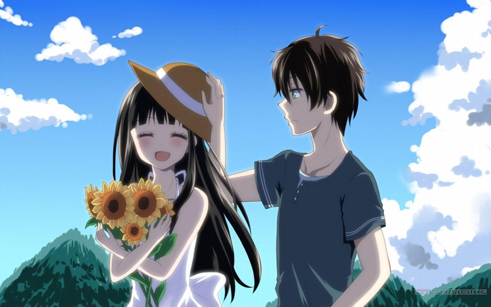 Anime Hyouka Hōtarō Oreki Eru Chitanda Wallpaper Cute Anime Wallpaper Hyouka Romantic Anime