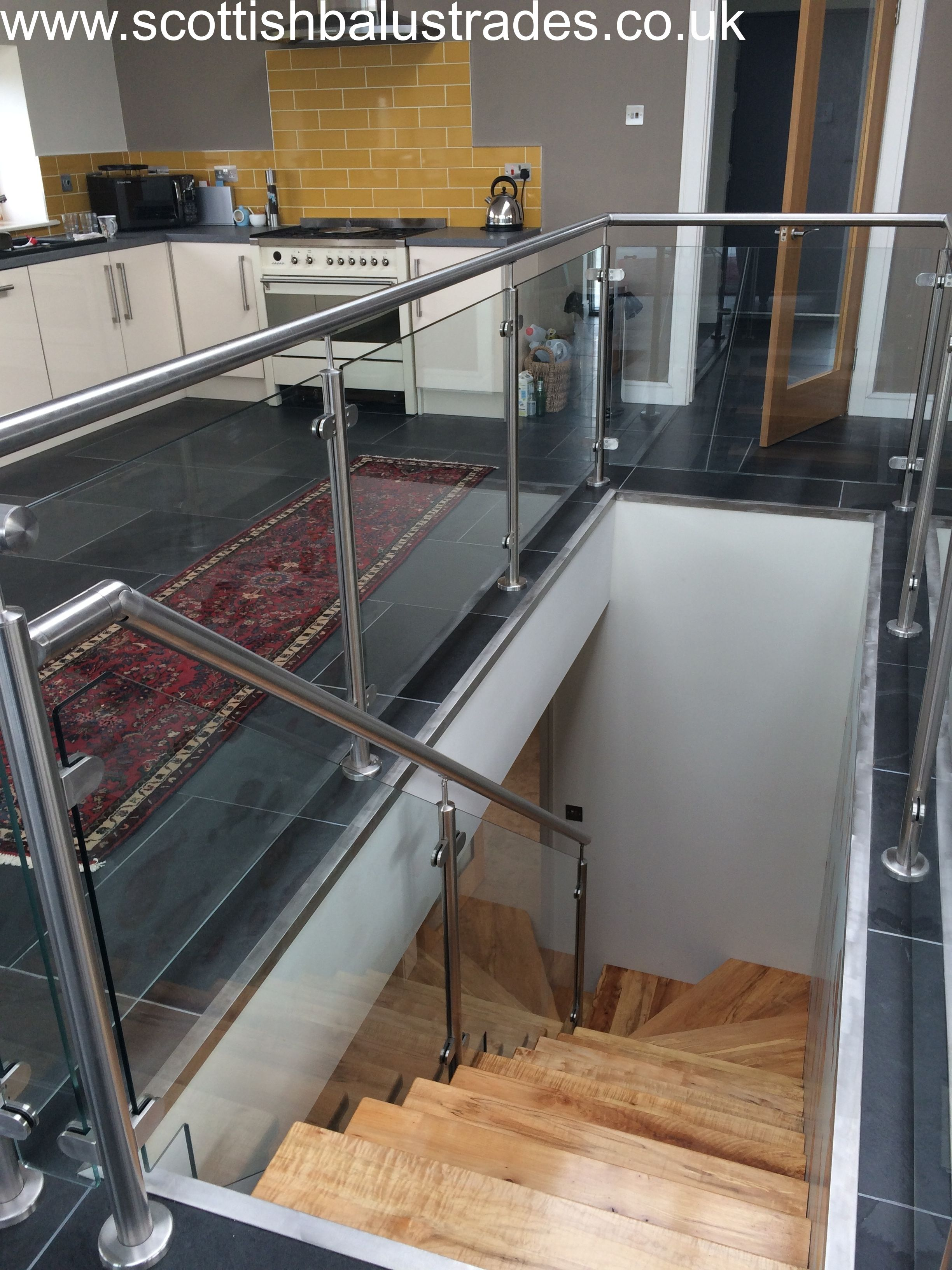 Best Stainless Steel And Glass Balustrade For Internal 400 x 300