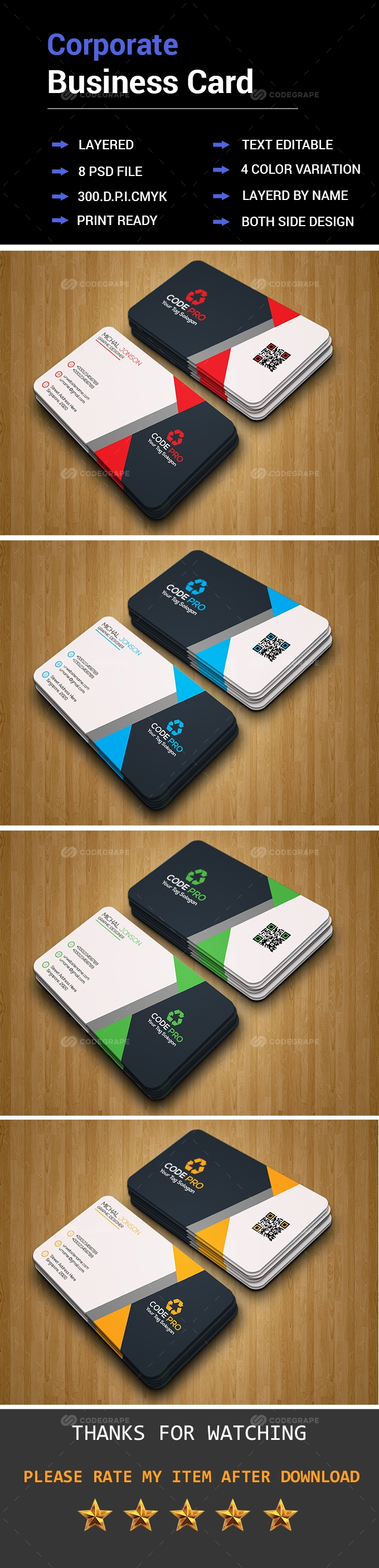 Pin by CodeGrape on Print | Pinterest | Business cards, Business and ...