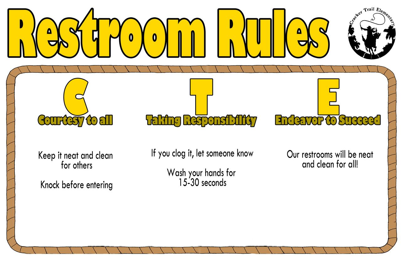 Impeccable image pertaining to printable bathroom etiquette signs