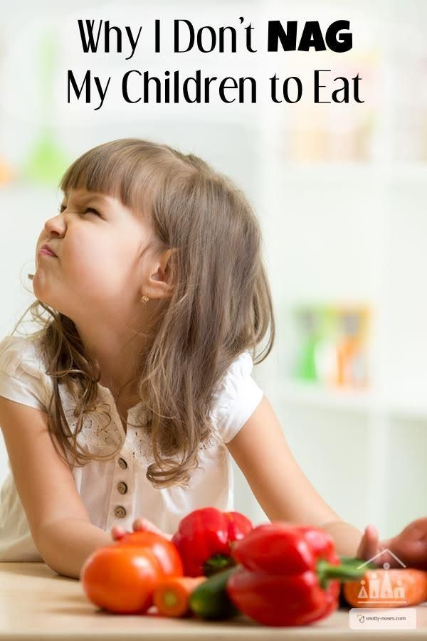 Don't make this healthy eating mistake. Why I don't nag my children to eat. A doctors viewpoint on how to develop healthy eating habits in children.