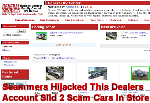 New Seller Ebay Car Scams Page 2 Of 3 Archives