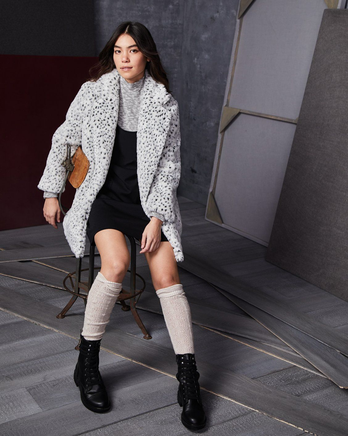 9496094c07 Aplomb in Action Faux-Fur Coat This faux-fur coat shows there s no slowing  down the forward motion of your style evolution! From Jack by BB Dakota