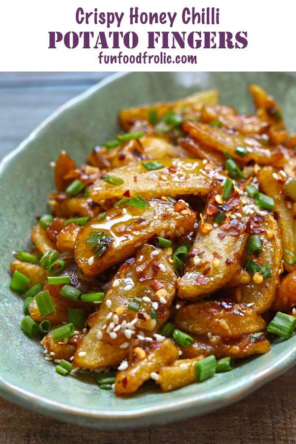 Honey Chilli Potato images