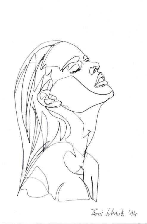 Photo of drawing art artwork Sketch minimal pale artists on tumblr artists of tumblr gaze…