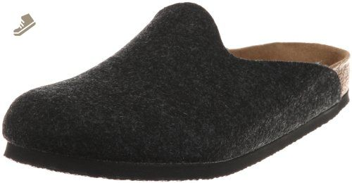 Birkenstock womens in black from Polyurethane Synthetic-Clogs 42.0 EU M