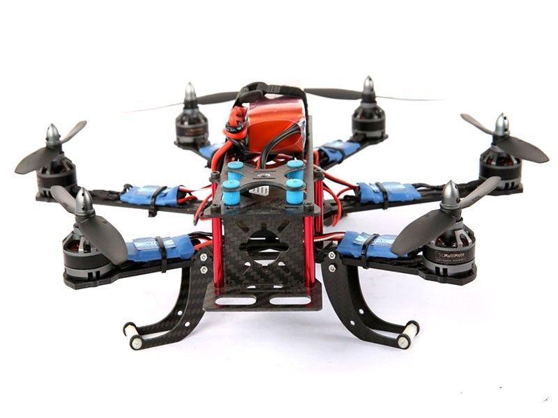 XBIRD 260 3K carbon fiber mini hexacopter Frame kits hexa