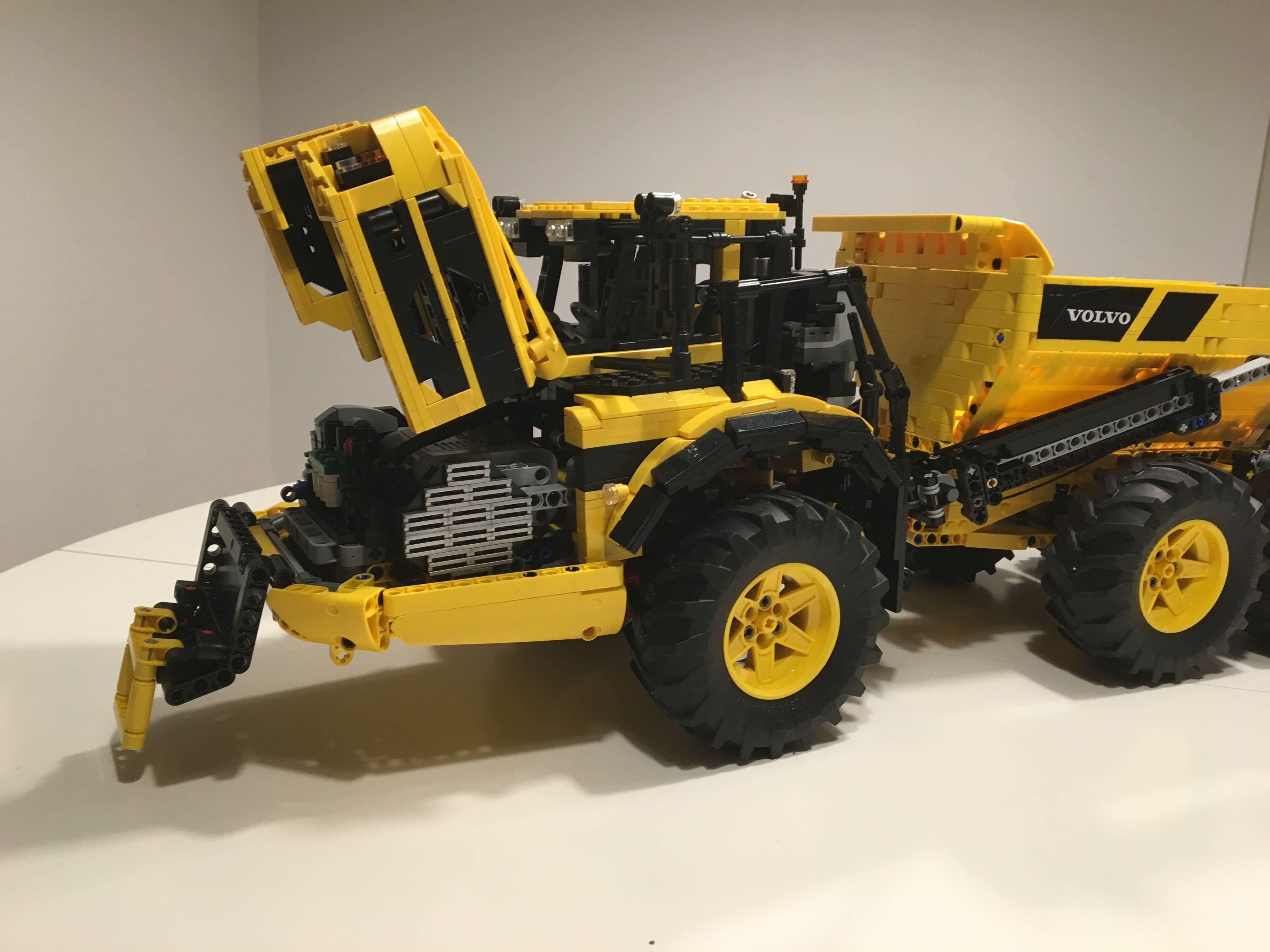 Volvo A45g Lego Lego Lego Lego Unimog Lego Moc