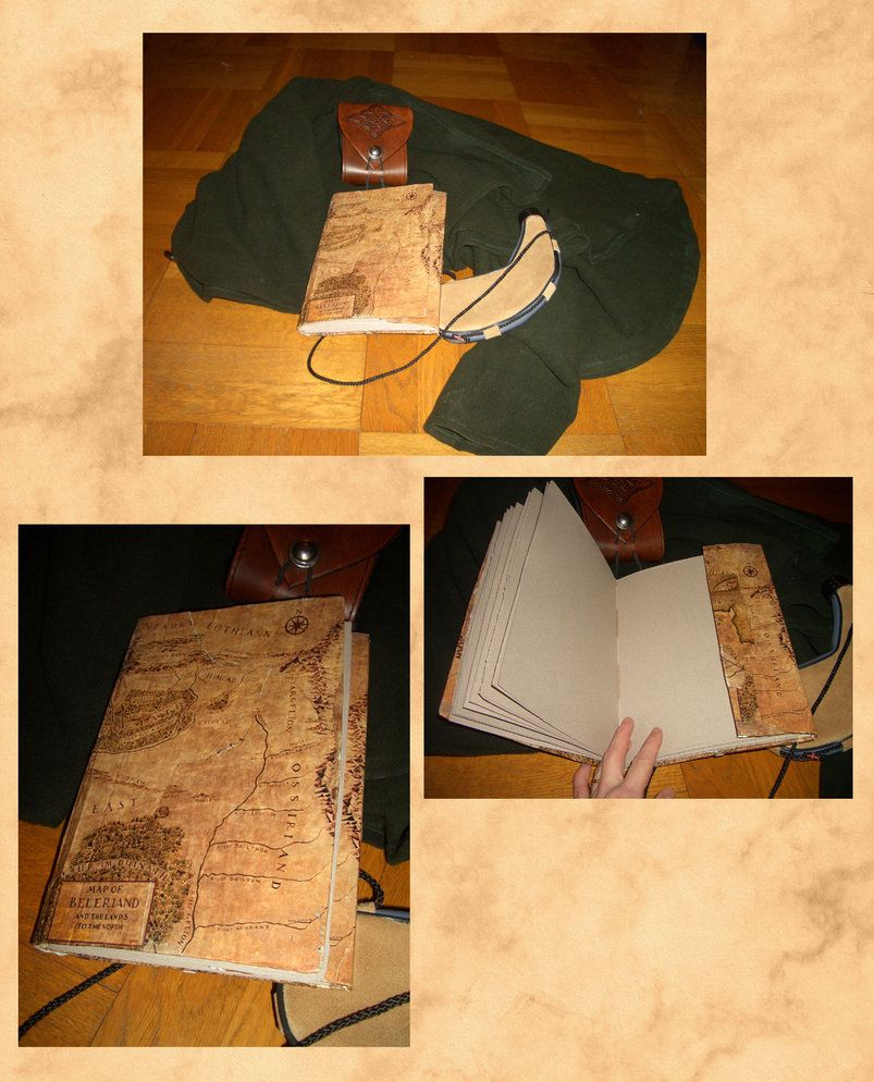 The Middle-earth traveller's sketchbook by =Gold-Seven on deviantART.  Nerding right now:)