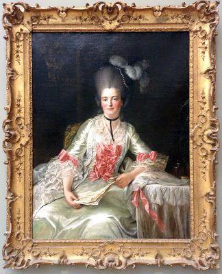 I took this photo for my readers! François H.Drouais, Marie Rinteau called Mademoiselle de Verrières.1761, oil on canvas.Metropolitan Museum of Art.