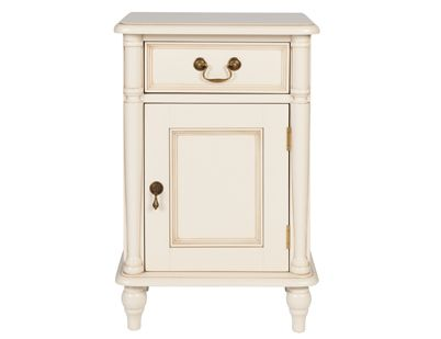 Clifton Ivory Bedside Table 220 50
