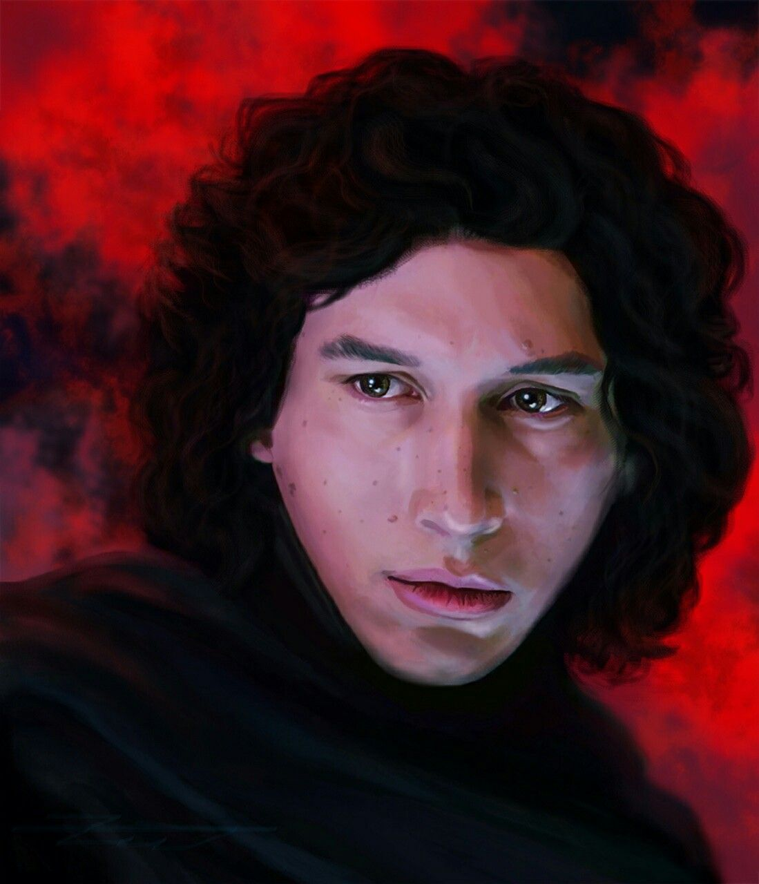 Kylo Ren Formerly Known As Ben Solo Was The Only Son Of