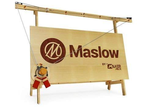 Maslow CNC Router Kit Basic Bundle Engraving Wood