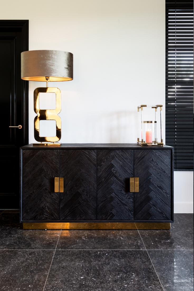 Dressoir Blackbone Goud | Richmond Interiors | Goud interieur, Interieur,  Interieur woonkamer