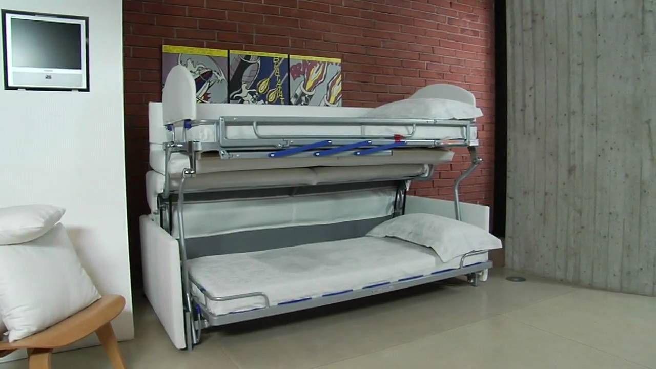 Divano Letto Castello Due Sofa Bunk Bed