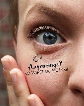 Natürliche Hilfsmittel gegen Augenringe - Letters & Beads #darkcircle