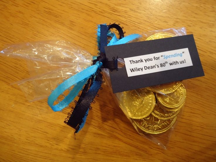 80th birthday party favors See more favor and party ideas at one