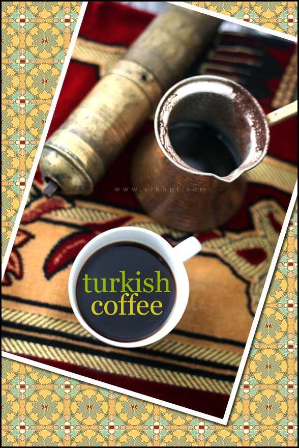 Turkish Coffee Kopi Turki Resep Kopi Kopi